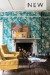 Wc Wallpaper Hegemone Farrow & Ball